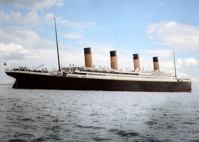 ultimi scatti prima del naufragio