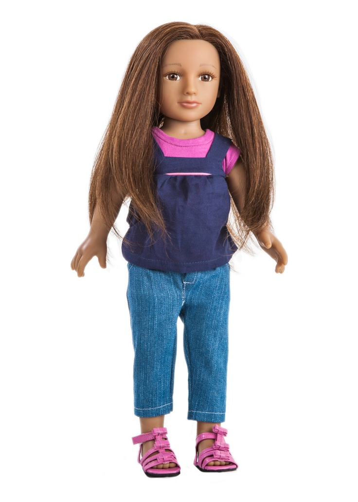 My salon doll the only doll with real hair kendrey is for 4 dollz only salon