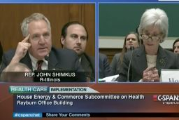 Congressman Botches Attempt To Compare Sebelius To North Korean Dictator — And Then Really Freaks Out -- What a douche!