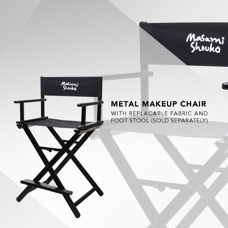 New metal makeup chair