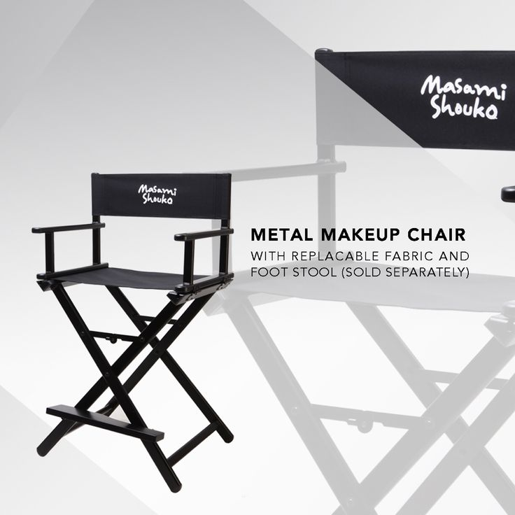 New metal makeup chair