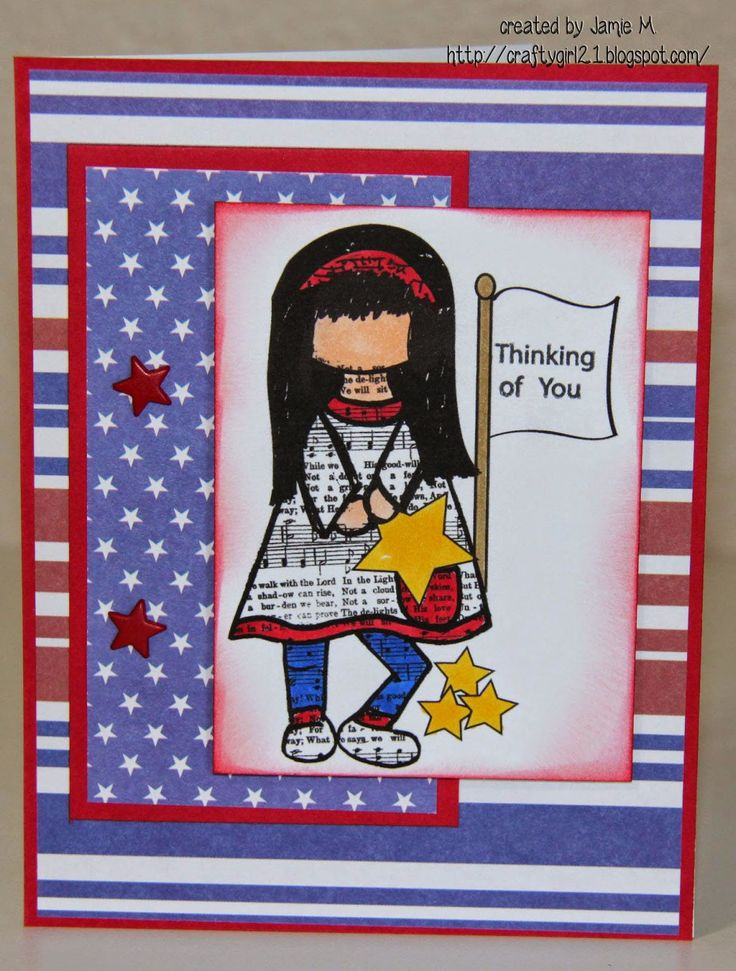 Crafty Girl 21!: IS Red White and Blue Time