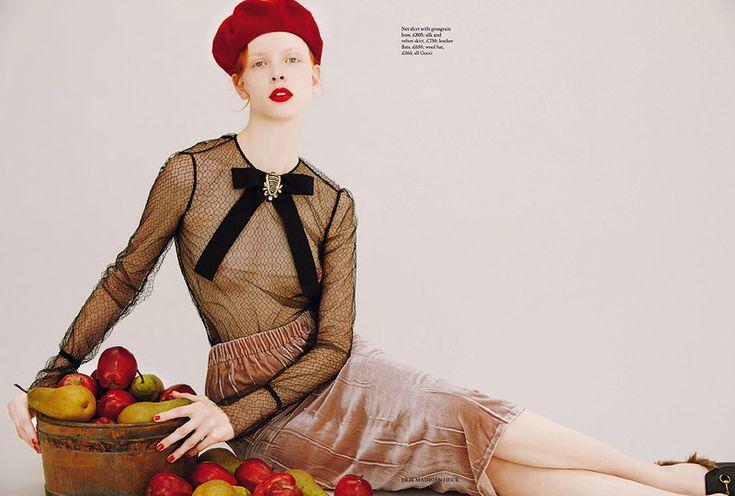 """Harper""""s Bazaar UK - August 2015"""