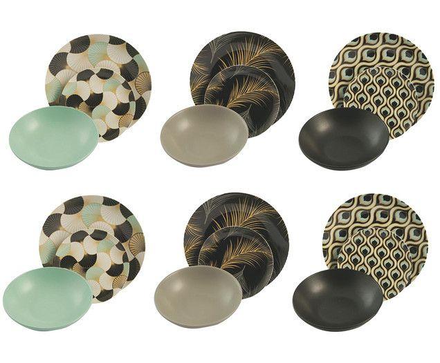 Geschirr-Set Deco, 18-tlg. Jetzt bestellen unter: https://moebel.ladendirekt.de/kueche-und-esszimmer/besteck-und-geschirr/geschirr/?uid=6acb0fcb-7fe3-5932-9d8c-07a6a4fcd5a9&utm_source=pinterest&utm_medium=pin&utm_campaign=boards #geschirr #kueche #tafelservice #esszimmer #besteck