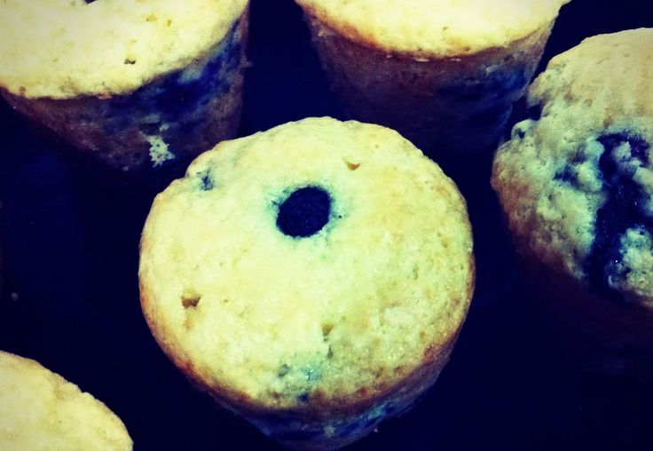 BLUEBERRY MUFFINS  This was one of the very first recipes that I had made. Absolutely delicious!