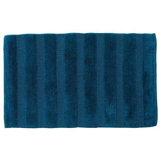 $22.00- Target- Grandeur Reversible Stripe Bath Mat - Ink Blue