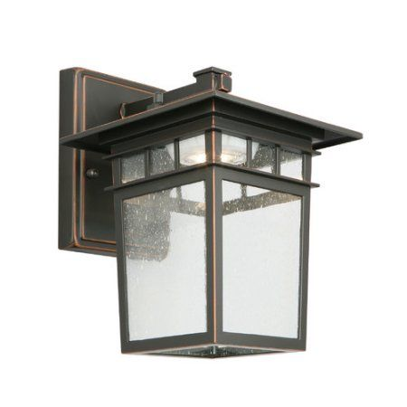 Design House 578401 Dayton LED Outdoor Wall Light, Oil Rubbed Bronze