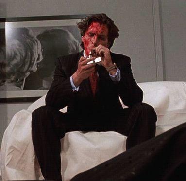Christian Bale in American Psycho
