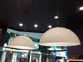 Perspex Dome x 2 – Opal