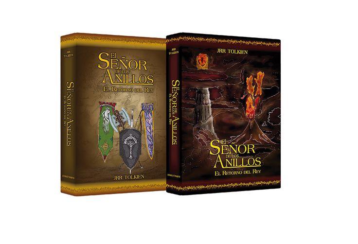 Propuestas de carátula para el libro EL SEÑOR DE LOS ANILLOS: El retorno del rey.