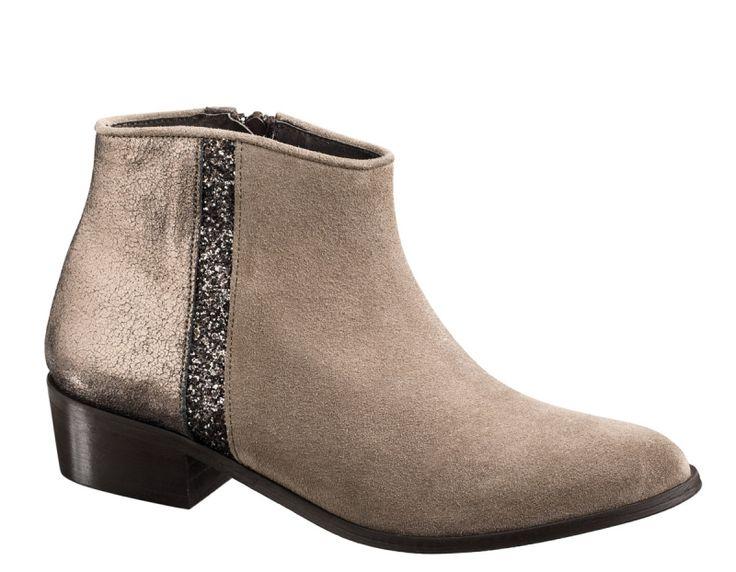 Boots BLONDIE Peau/Star - Vison // Reqins Collection hiver 2016