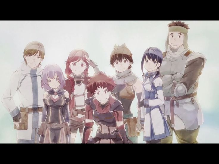 Grimgar of fantasy and ash anime artwork anime life