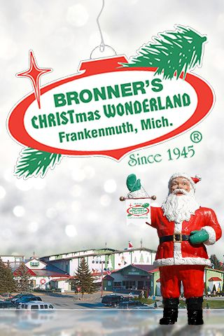 Best Christmas Store in the World...a must place to visit if you're in Mich. for the holidays!  They have anything you could think of for Christmas !