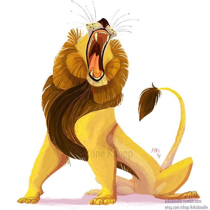 Lion Roar by Kiki-Doodle