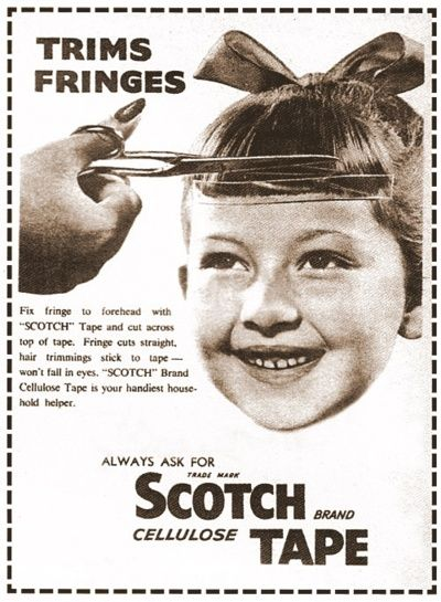 Trim the bangs: Remember This, Pixie Haircuts, Funny, Childhood, Vintage Ads, Fringes, Shorts Bangs, Scotch Tape, Schools Pictures