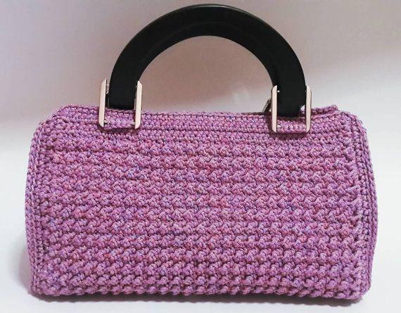 Gehäkelte Handtasche Tasche Handtasche Frauen Tasche von SiriwanBag