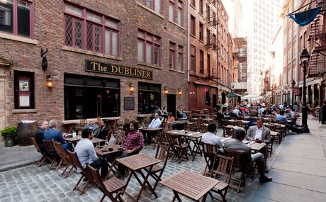 Visit historical sites in NYC, including the oldest pizzeria, restaurant, bar, museum, building, roller coaster, hot dog stand and more.