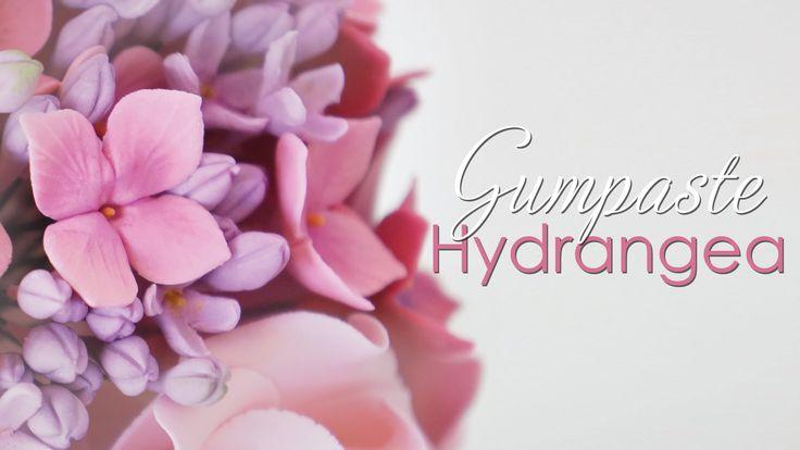 Fondant Hydrangea tutorial