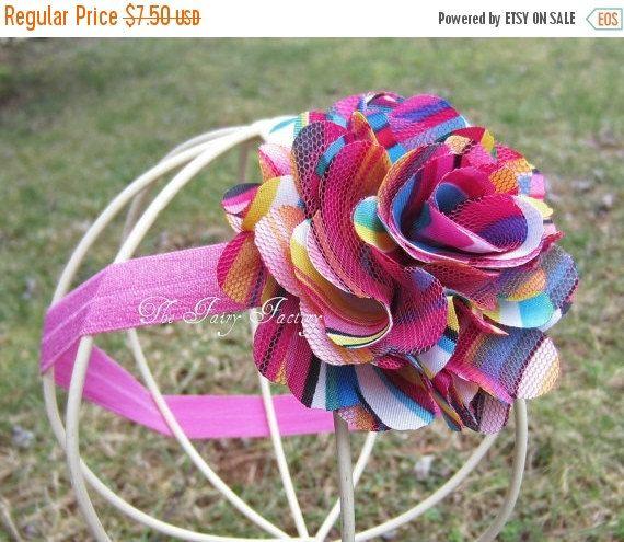 Arco iris de color de rosa caliente Satén y por TheFairyFactoryShop