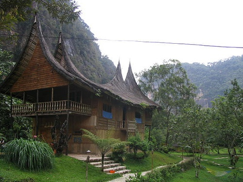 Home Stay at Harau Valley in West Sumatera, Indonesia