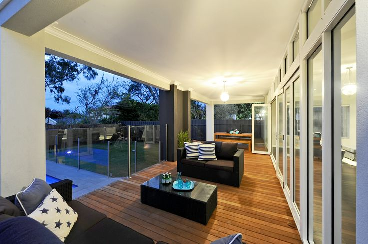 Hampton Style Homes Alfresco, by the team at nhbb.com.au