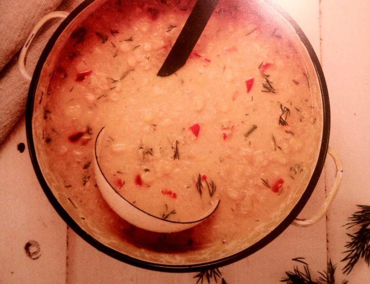 Voici ma recette de soupe préférée: il s'agit d'une chaudrée de quinoa et maïs absolument délicieuse et excellente pour la santé!