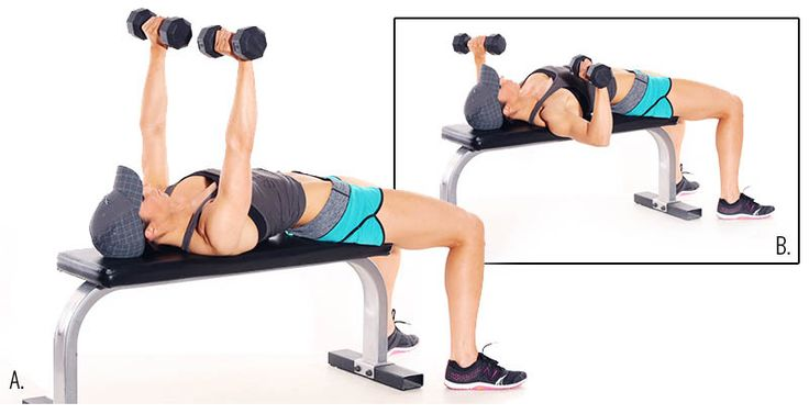 Ultimate Dumbell Bench Press Workout For A Fit Body Regime #Outbreaking #Fitness