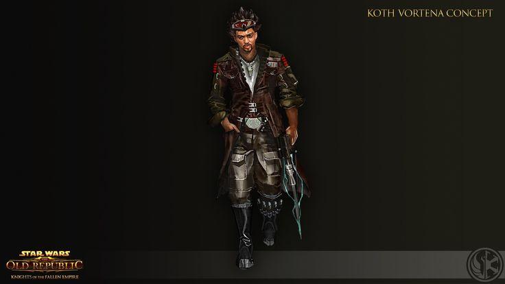 Star Wars TOR: Knights of the Fallen Empire - Koth Vortena Concept