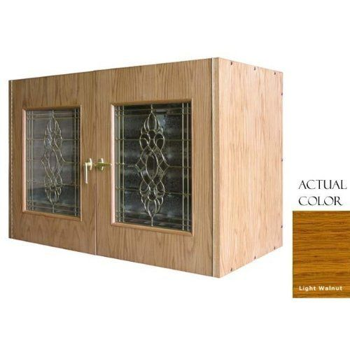 Vinotemp Vino-296b-ltwa 224 Bottle Wine Cellar - Glass Doors / Light Walnut Cabinet by Vinotemp. $4619.00. Vinotemp VINO-296B-LTWA 224 Bottle Wine Cellar - Glass Doors / Light Walnut Cabinet. VINO-296B-LTWA. Wine Cellars. This Vinotemp Wine Cellar features two elegant beveled glass doors and a crisp white oak exterior. The wine mate self contained cooling system ensures proper circulation while your wine is stored safely away. Digital temperature control makes temperature adjus...