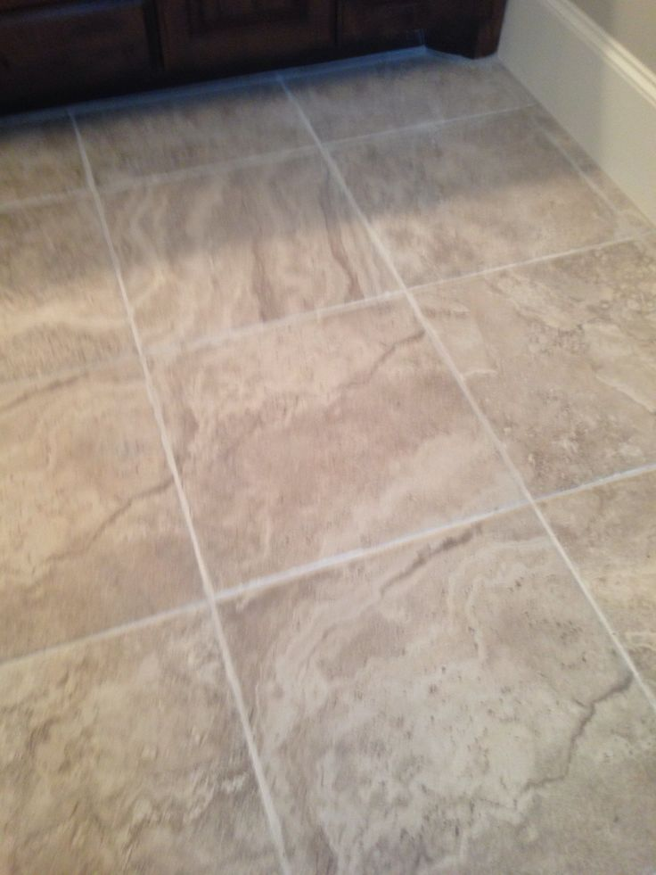 Porcelain Tile But Similar To Travertine New House