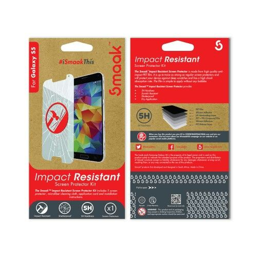 Smaak™ Anti Impact Protector for Samsung Galaxy S5 - Single Pack.  For more info visit http://ismaak.com