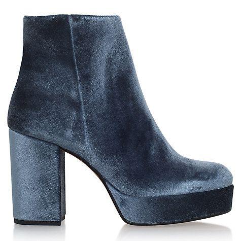 Buy Carvela Swedish Block Heeled Platform Ankle Boots Online at johnlewis.com