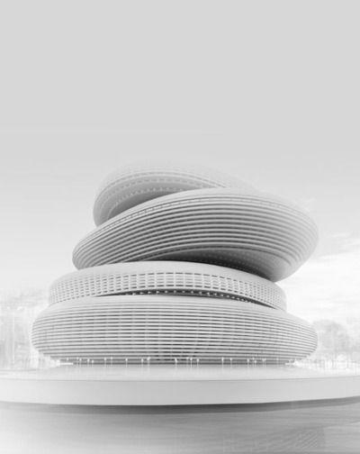 Busan Opera House, South Korea by Praud.