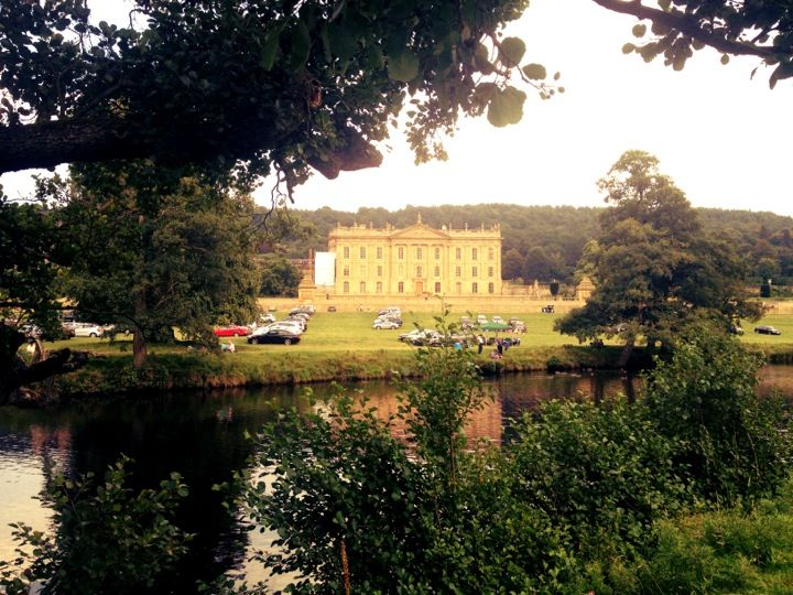 The home of Mr Darcy, Pride and Prejudice Chatsworth House in Bakewell, Derbyshire