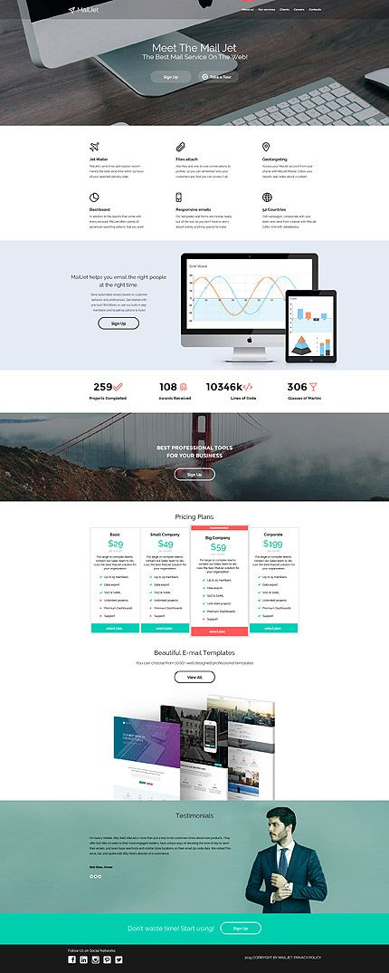 Internet Last Added website inspirations at your coffee break? Browse for more Bootstrap #templates! // Regular price: $75 // Sources available: .HTML,  .PSD #Internet #Last Added #Bootstrap