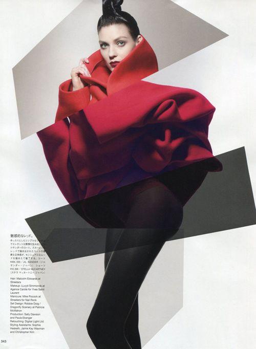 Kati Nescher | Sølve Sundsbø | Vogue Japan October 2012 | OrganicNeon-Tech - 3 Sensual Fashion Editorials | Art Exhibits - Anne of Carversville Women's News