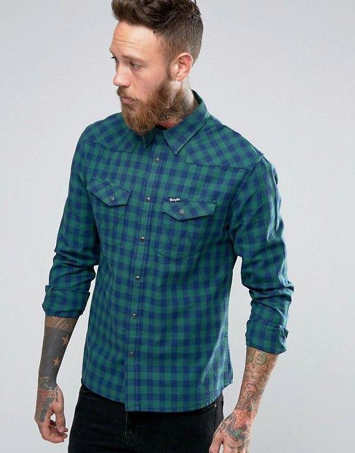Wrangler | Рубашка в стиле вестерн с длинными рукавами Wrangler Heritage