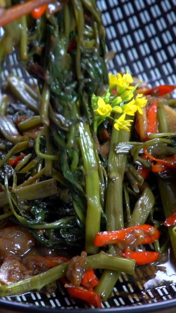 Tumis Kangkung Tauco Ide Makanan Makanan Resep Makanan