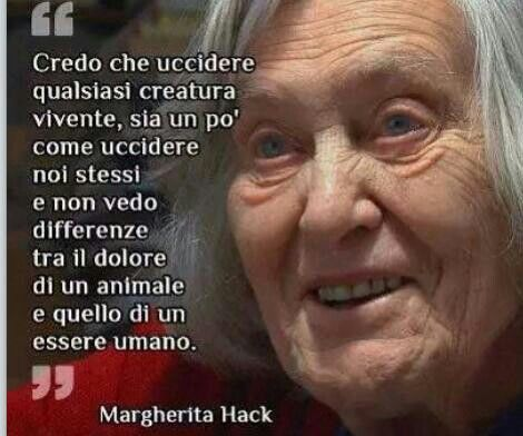 Margherita Hack #animali