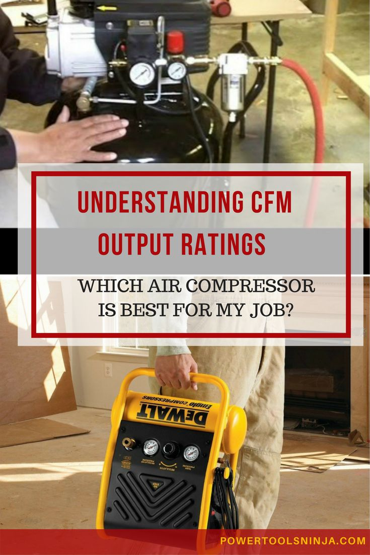 Air Compressor CFM Understanding Output Ratings Air