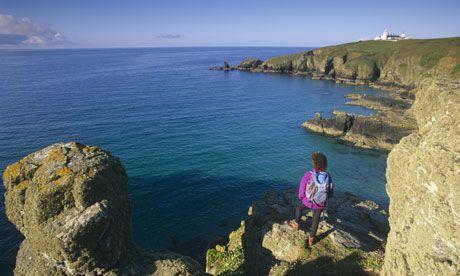 Kynance Cove, Lizard Peninsula, Cornwall - for amazing swimming