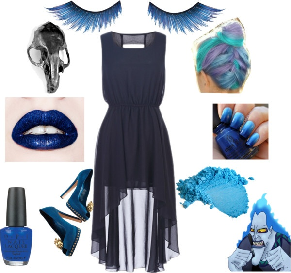 """hades Disney"" by tombstone-grrrl on Polyvore"