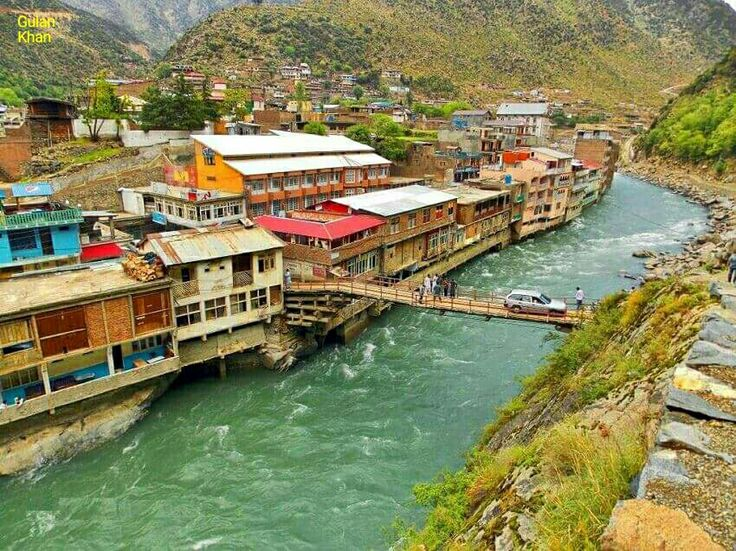 So fantastic photography of Bahrain city Swat valley Khyber Pakhtunkhwa Pakistan