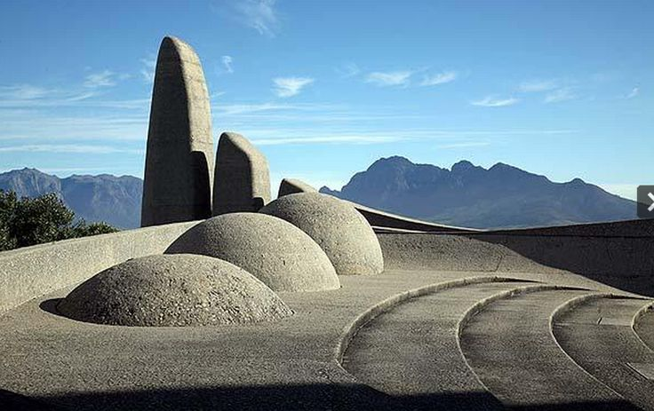 Monument to the Afrikaans language near Paarl, Western Cape
