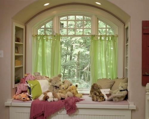 Another window seatLittle Girls, Bookshelf Design, Windows Seats, Reading Spot, Girls Room, Reading Nooks, Window Seats, Windows Treatments, Windows Design
