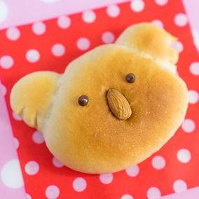コアラ白あんパン|レシピブログ