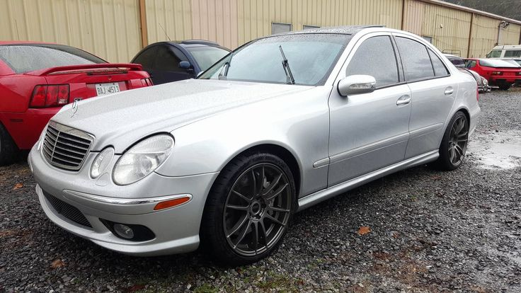 2004 Mercedes-Benz E55 AMG at German Autohaus of Chattanooga