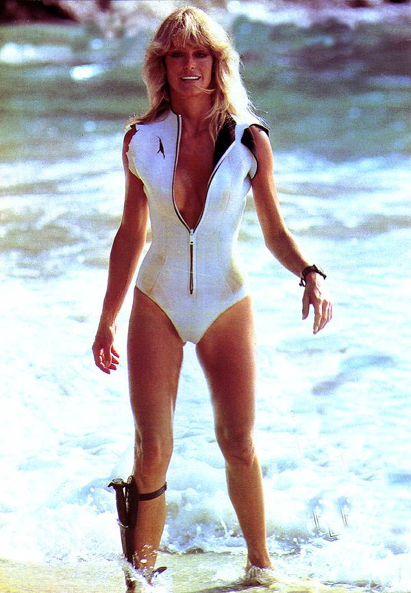 Farrah Fawcett - Sunburn (1980)
