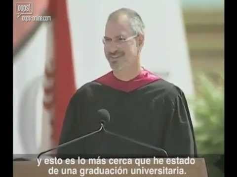 [HD] Discurso De Steve Jobs En Stanford(Subtitulado En Español) Completo - YouTube