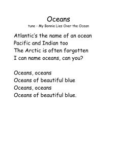 Oceans song
